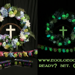 egglo eggs glowing wreath ready set glow